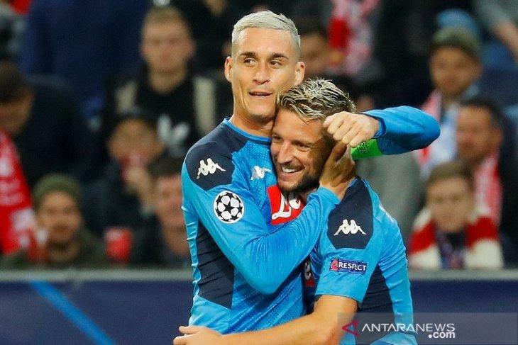 Hasil Liga Champions: Napoli jaga posisi puncak usai bekuk Salzburg