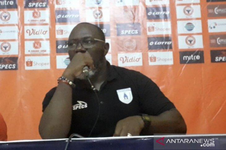 Menang di Padang, pelatih Persipura sebut timnya beruntung