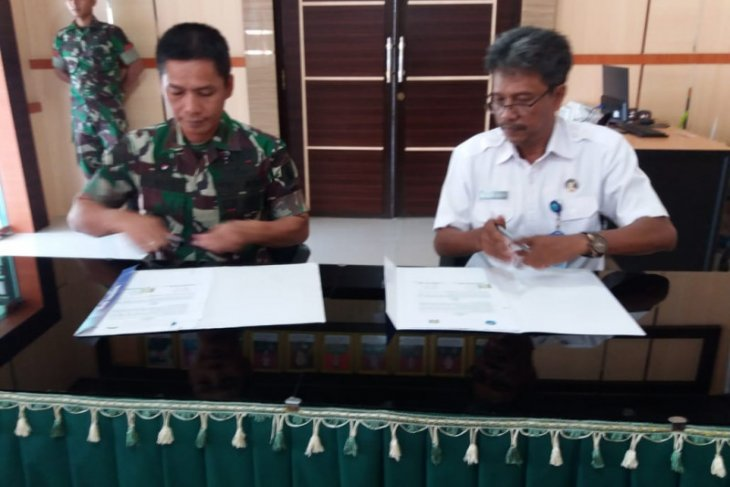 Kodim 1008 Tanjung, BNNK works together to eradicate drug