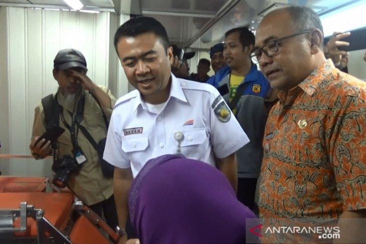 PT KAI berikan pelayanan kesehatan dan edukasi gratis di Sukabumi