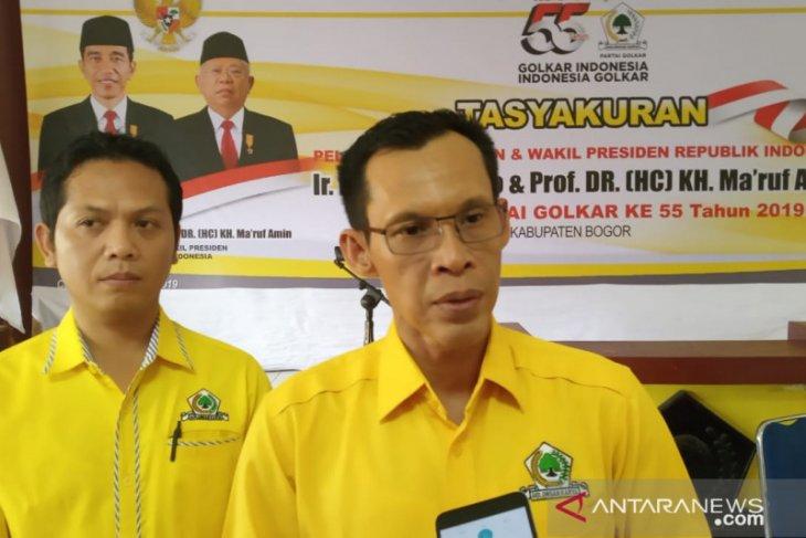 Partai Golkar Bogor gelar syukuran  pascapengumuman Kabinet Indonesia Maju