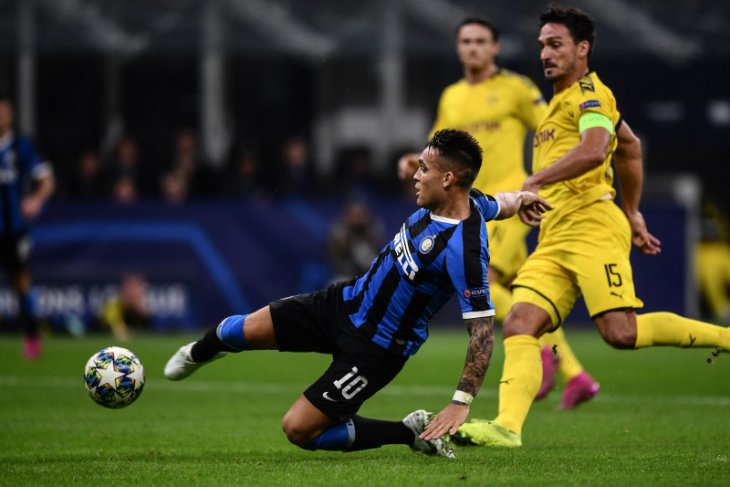 Inter perbesar peluang lolos fase grup setelah taklukkan Dortmund