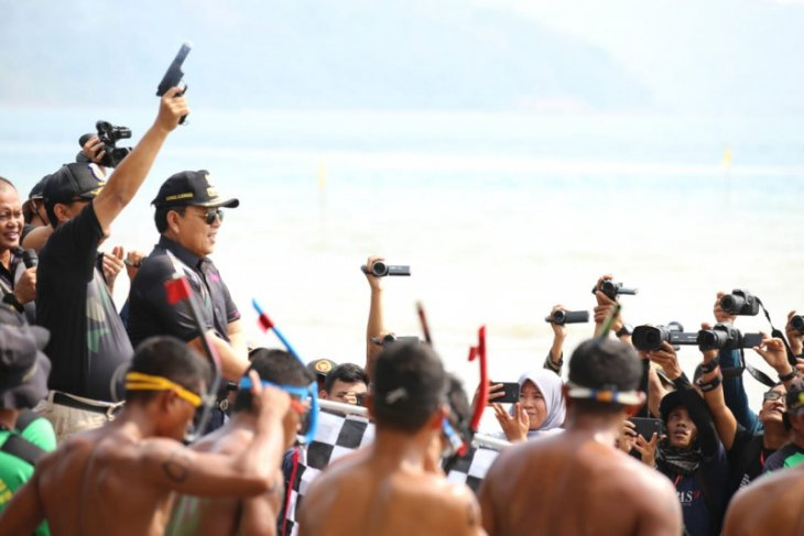 Festival Kelagian tumbuhkan wisata bahari di Lampung