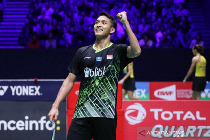 Jonatan akui keunggulan Chen Long di final French Open