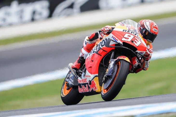 GP Australia, Marquez menang dramatis atas Vinales
