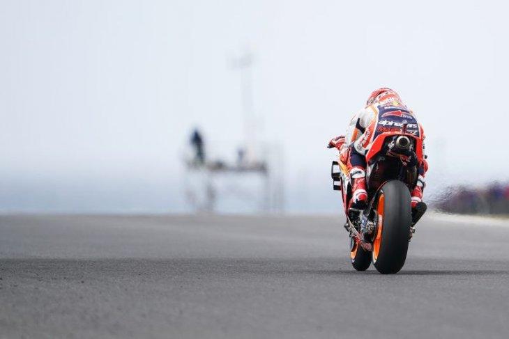 Mulus di GP Australia, rival-rival Marquez tumbang
