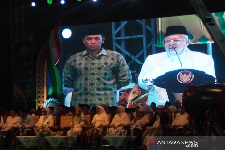 Wapres Ma'ruf Amin andalkan santri hadang radikalisme