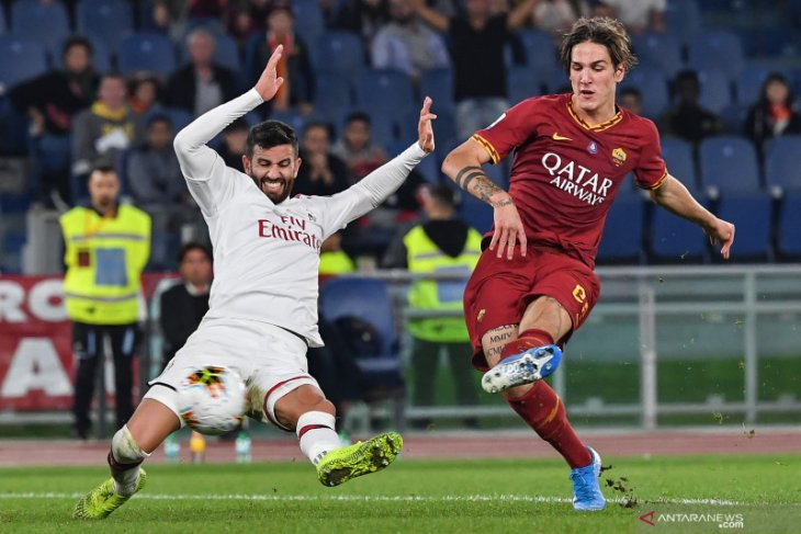 Hasil Liga Italia, Roma bungkam Milan 2-1