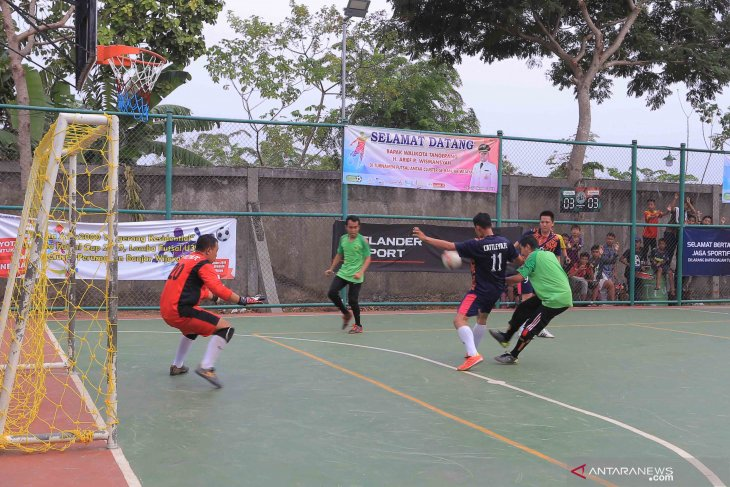Peringatan Sumpah Pemuda  ditangsel diisi  turnamen futsal