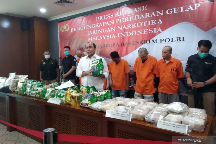 Police seize 70kg of methamphetamine from Indonesia-Malaysia network