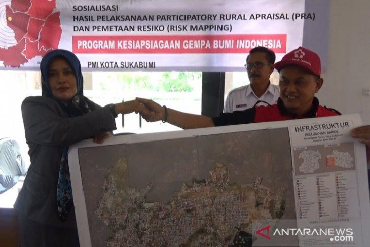 PMI petakan daerah rawan bencana di Sukabumi