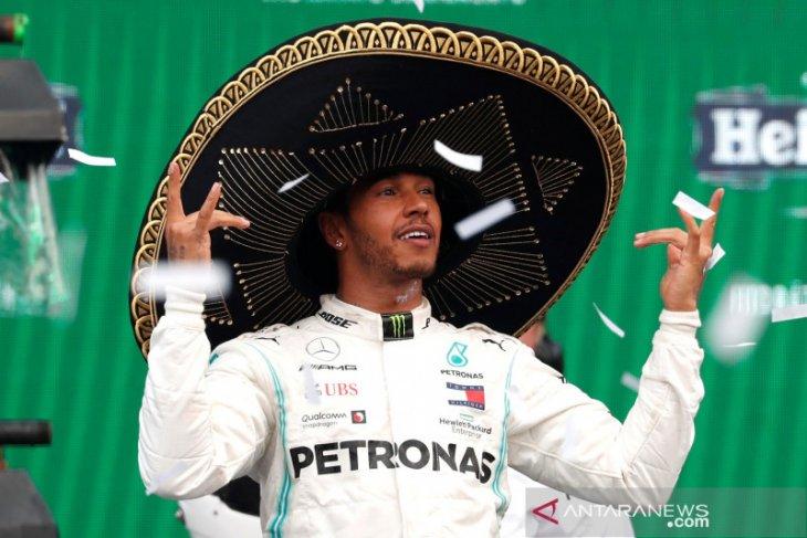 Hasil Formula 1: Hamilton juarai GP Meksiko