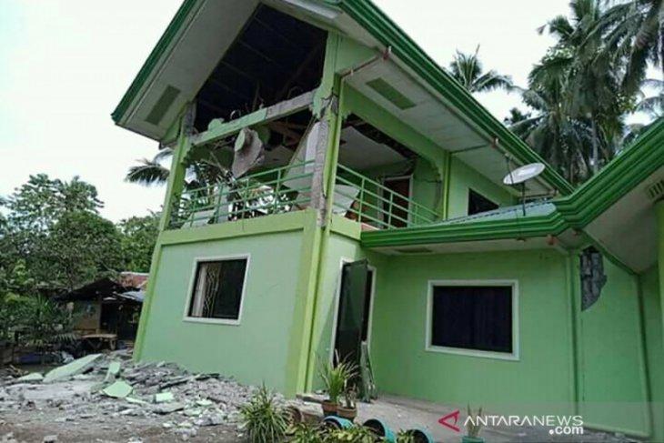 Gempa magnitudo 6,6 guncang Filipina selatan