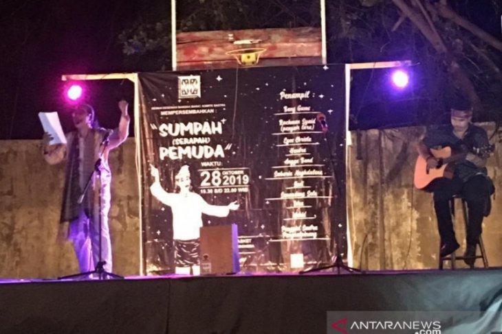 Dewan Kesenian Bangka Barat semangati pemuda dengan pementasan karya sastra