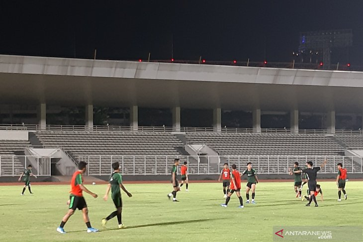 Pelatih timnas nilai timnas U-22 catat kemajuan