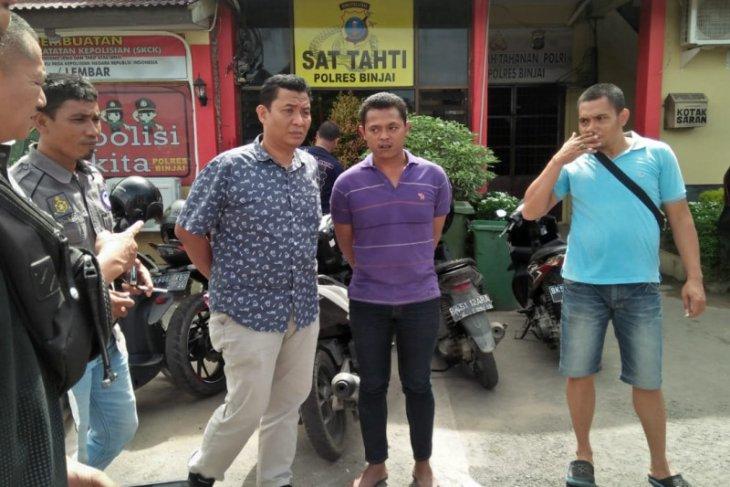 Polres Binjai tangkap pelaku pencabulan anak di bawah umur