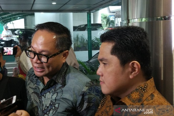 Menteri BUMN Erick Thohir tetapkan pembagian tugas Wakil Menteri
