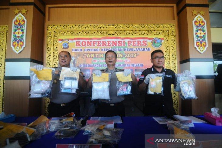 Operasi Antik Intan Polda gulung 322 pengedar narkoba