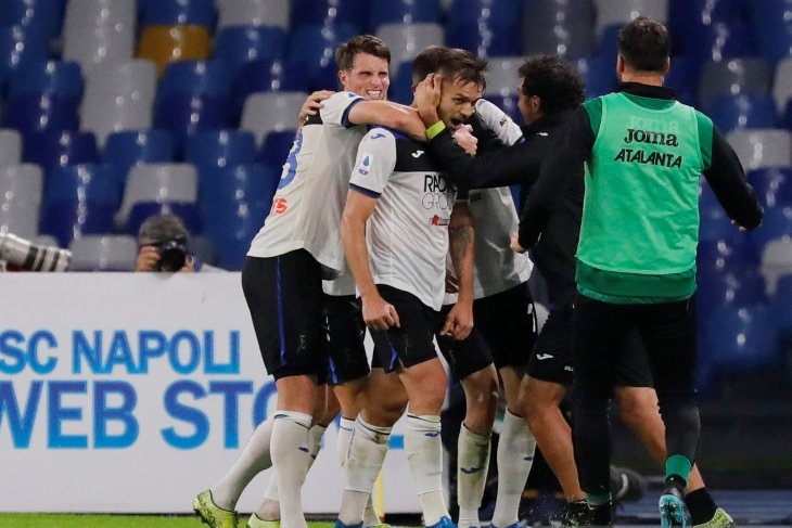 Hasil Liga Italia, Atalanta imbang di kandang Napoli
