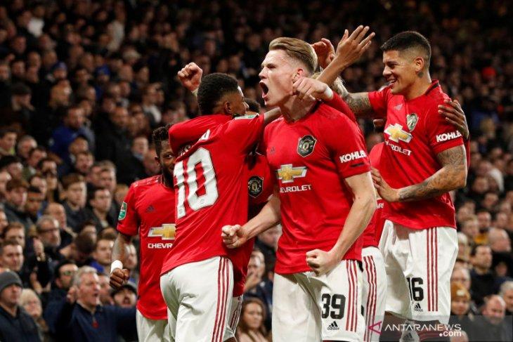 Piala Liga Inggris, Manchester United hempaskan Chelsea