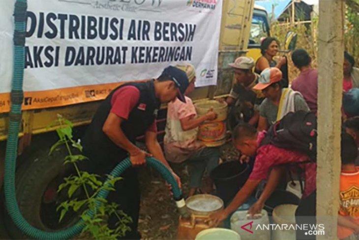 Kemarau panjang, ACT Bali distribusikan air bersih di Karangasem, Bangli, dan Buleleng