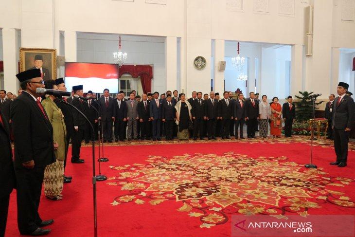 Presiden lantik sembilan anggota Komisi Kejaksaan