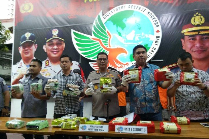 Indonesian police bust Malaysia-Pekanbaru-Jakarta drug ring