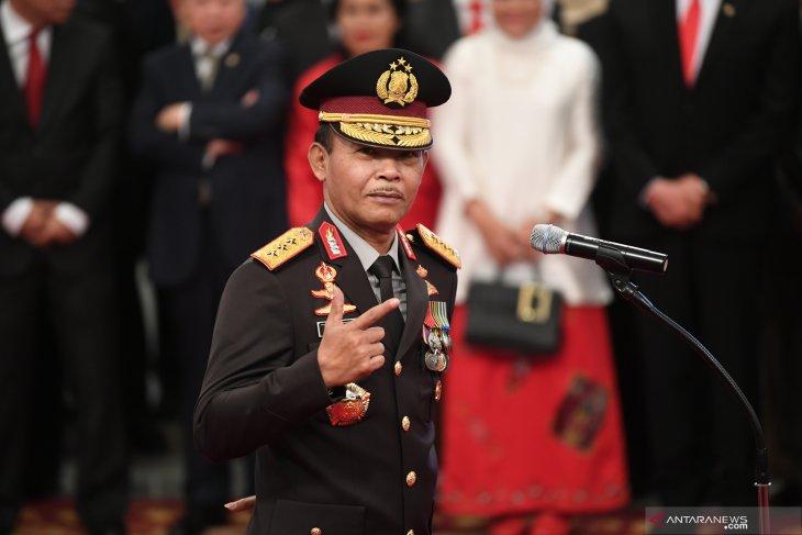Pesan Presiden Jokowi kepada Kapolri Idham Azis: Kerja, Kerja dan Kerja