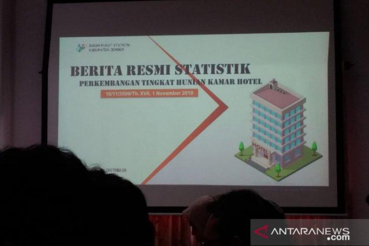 BPS catat tingkat hunian hotel berbintang di Jember 48,53 persen