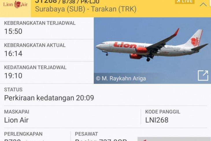 Cuaca buruk, dua pesawat Lion Air nyaris tak bisa mendarat di Tarakan