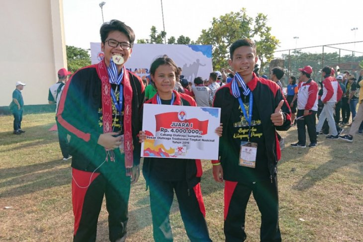 Ketapang catat prestasi nasional di Pekan Olahraga Tradisional