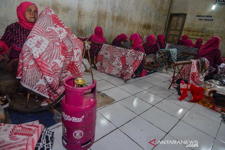 Peresmian Kampung Batik Bright Gas