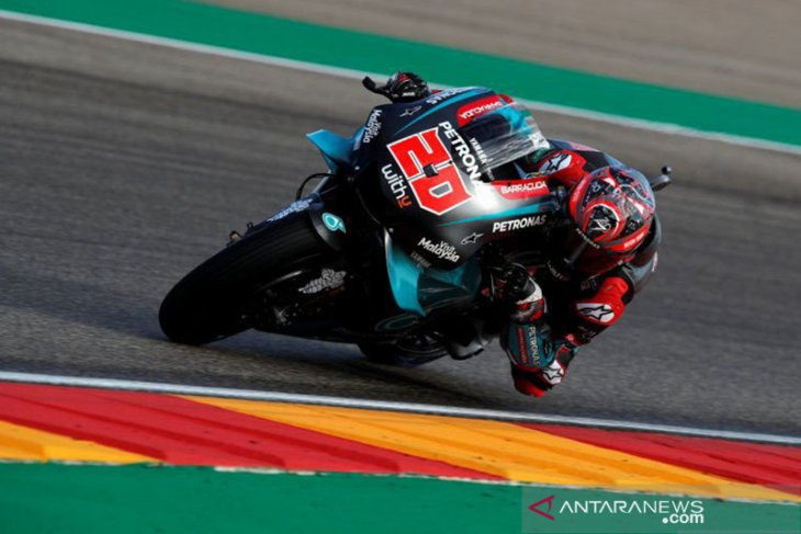 Quartararo start terdepan di MotoGP Valencia