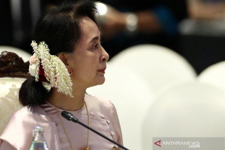 Sejak ditangkap militer Myanmar, keberadaan Suu Kyi tak diketahui