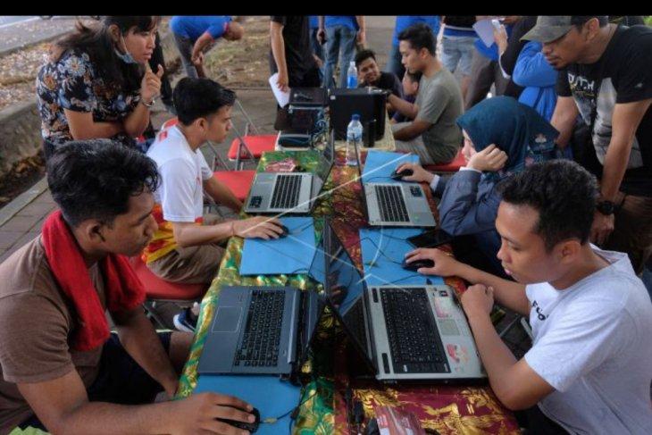 Simulasi CAT seleksi CPNS 2019 di Denpasar