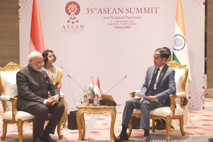 PM Modi puji inisiatif Indonesia atas outlook ASEAN