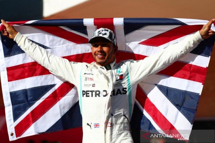 Runner up  di Austin,  Hamilton kunci gelar juara dunia keenam kali