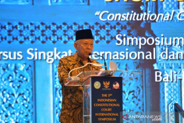 Ma'ruf Amin stresses on stringent law enforcement in Indonesia