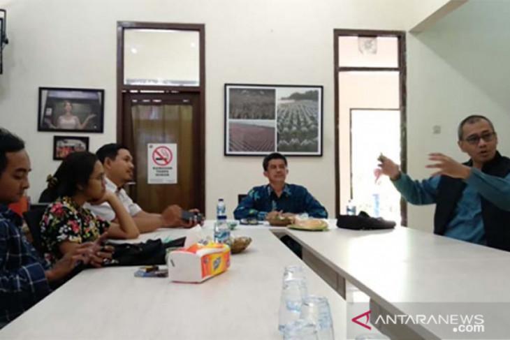 Direktur Utama LKBN ANTARA cek program pemberdayaan biro di Bali