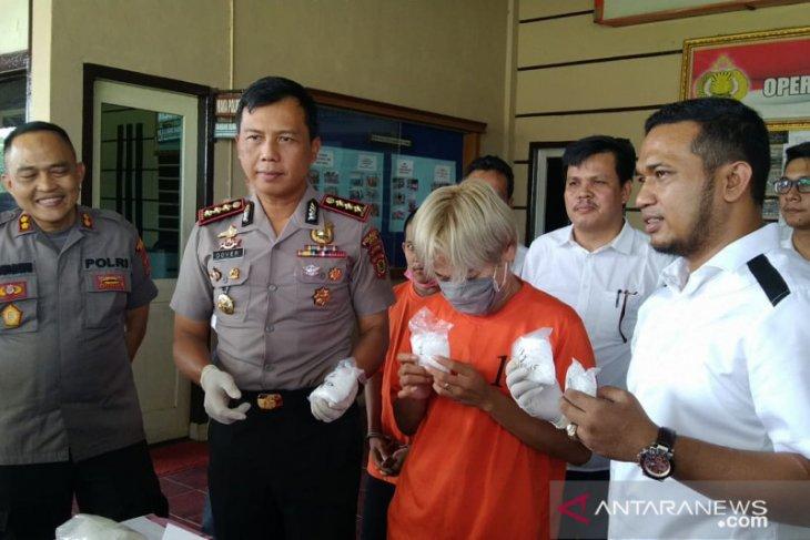 Polisi Jambi bekuk  pengedar sabu jaringan lapas narkoba
