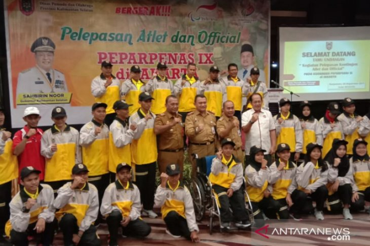 20 S Kalimantan para athletes compete in Paperpenas