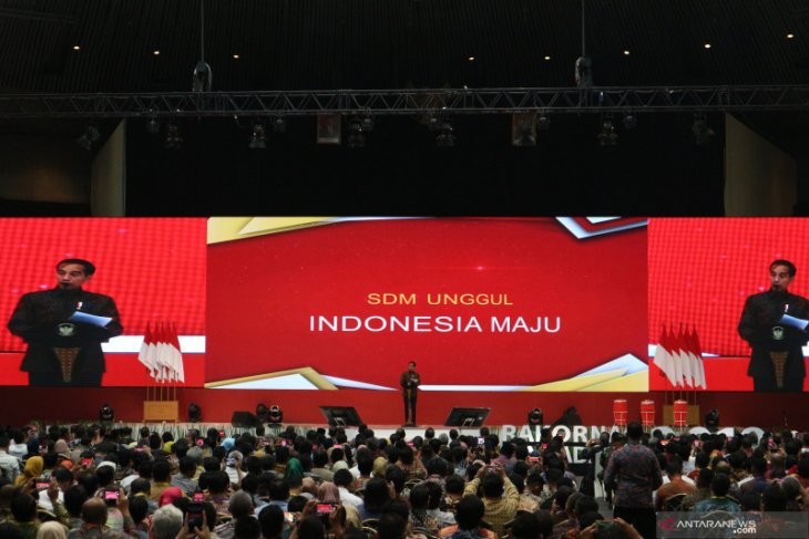 Jokowi stresses on prudent budgetary management for education