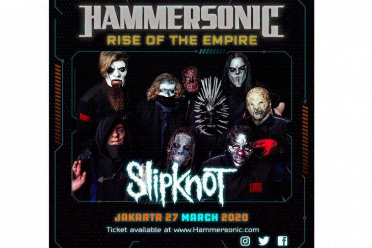 Slipknot tampil di Hammersonic 2020, ini harga tiket masuknya