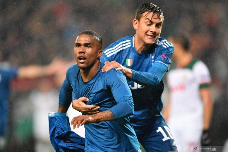 Juve amankan tiket fase gugur setelah mengalahkan Lokomotiv