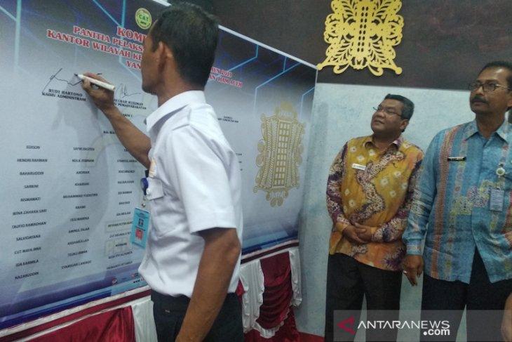 Kemenkumham Aceh tegaskan penerimaan CPNS bebas KKN