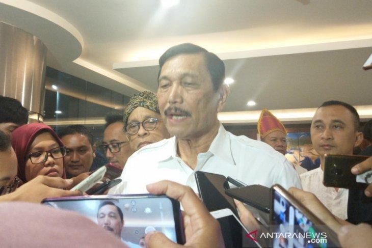 Menko Luhut: audit BPKP selesaikan kisruh Garuda-Sriwijaya selesai seminggu