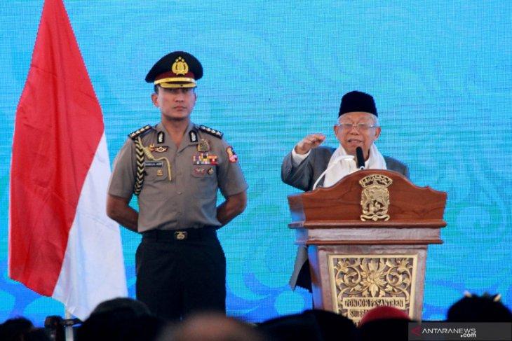 Wakil Presiden Ma'ruf Amin minta gubernur jalankan program prioritas pemerintah pusat
