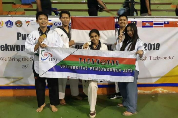 Taekwondoin UPJ raih medali kejuaraan internasional