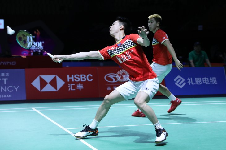 Lolos semifinal Fuzhou China Open, Marcus/Kevin tingkatkan fokus