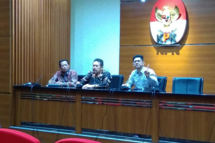 Jaksa Agung ST Burhanuddin menyambangi gedung  KPK